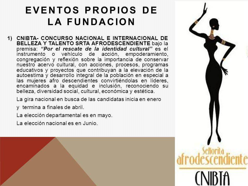 EVENTOS PROPIOS DE LA FUNDACION