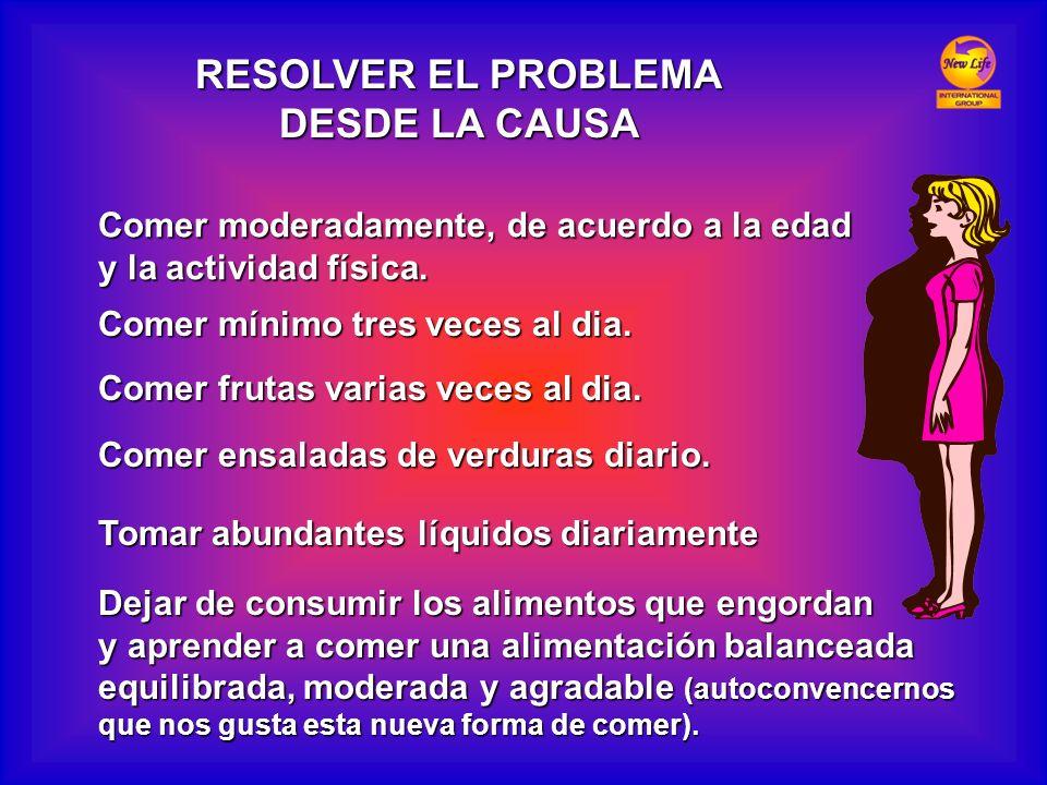 RESOLVER EL PROBLEMA DESDE LA CAUSA