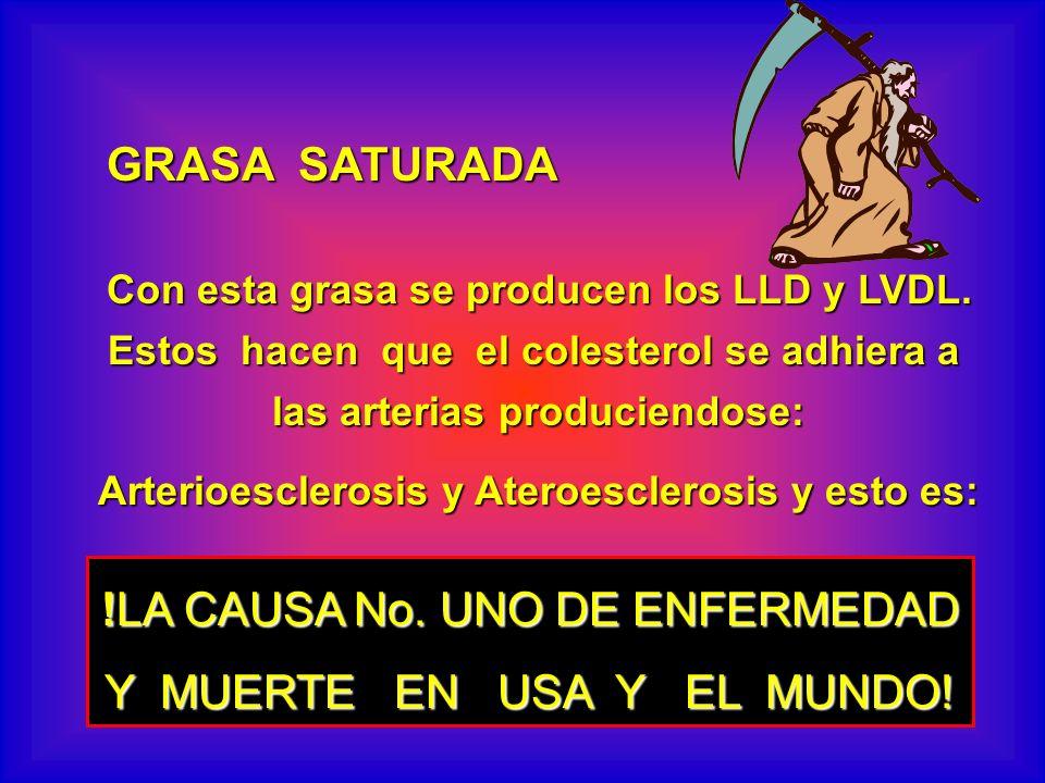 !LA CAUSA No. UNO DE ENFERMEDAD Y MUERTE EN USA Y EL MUNDO!