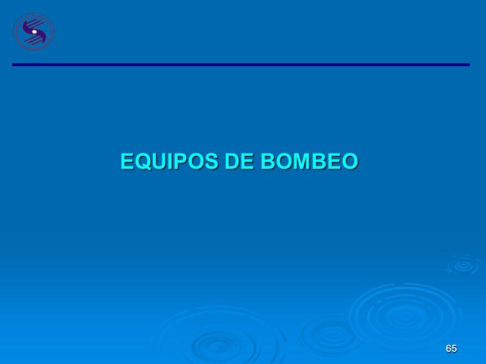 EQUIPOS DE BOMBEO