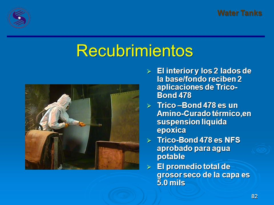 Recubrimientos Water Tanks