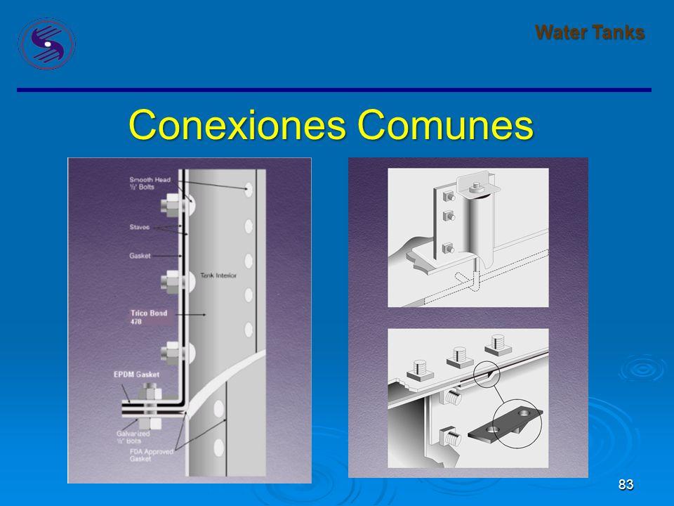 Water Tanks Conexiones Comunes