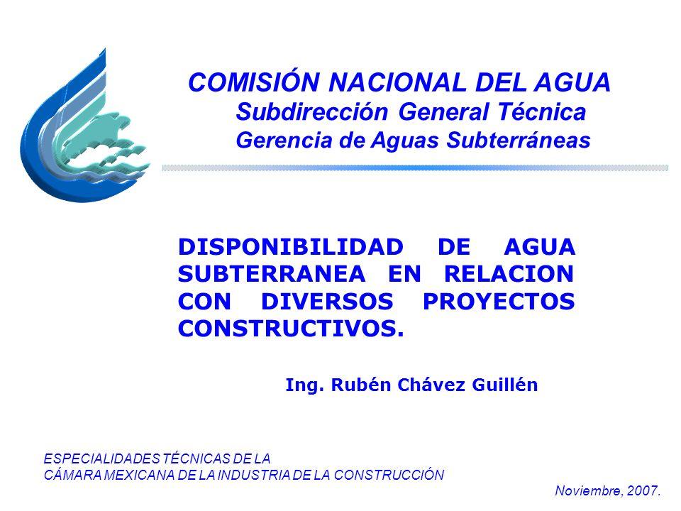 COMISIÓN NACIONAL DEL AGUA