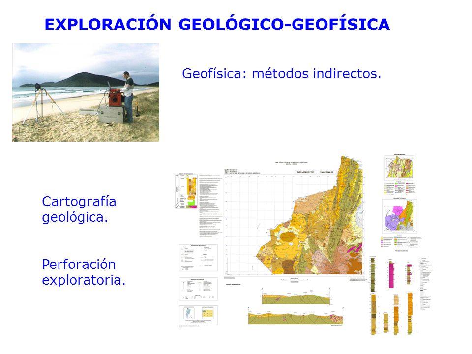 EXPLORACIÓN GEOLÓGICO-GEOFÍSICA