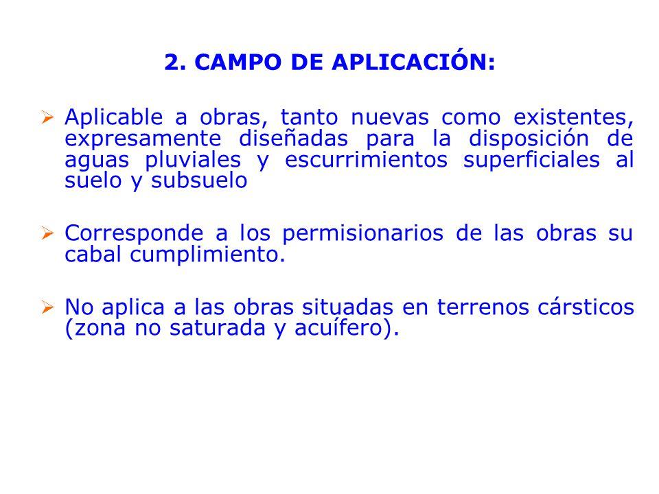 2. CAMPO DE APLICACIÓN: