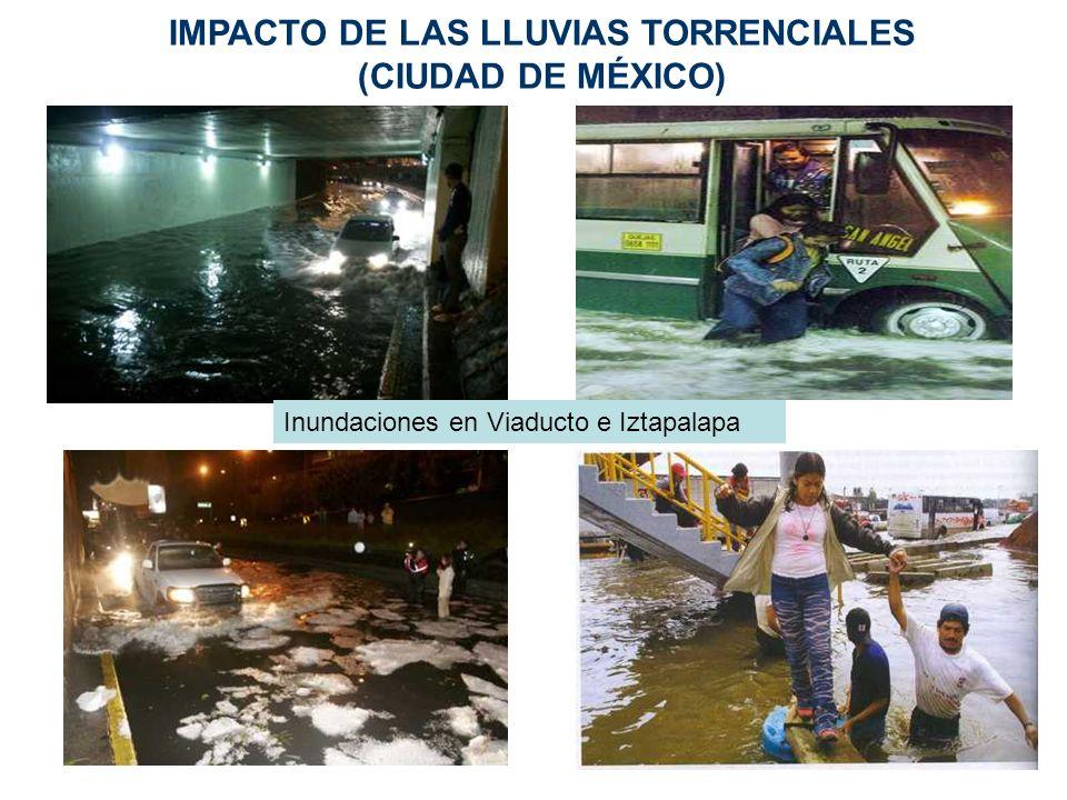IMPACTO DE LAS LLUVIAS TORRENCIALES