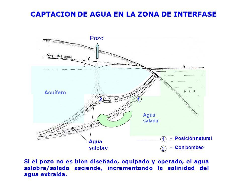 CAPTACION DE AGUA EN LA ZONA DE INTERFASE