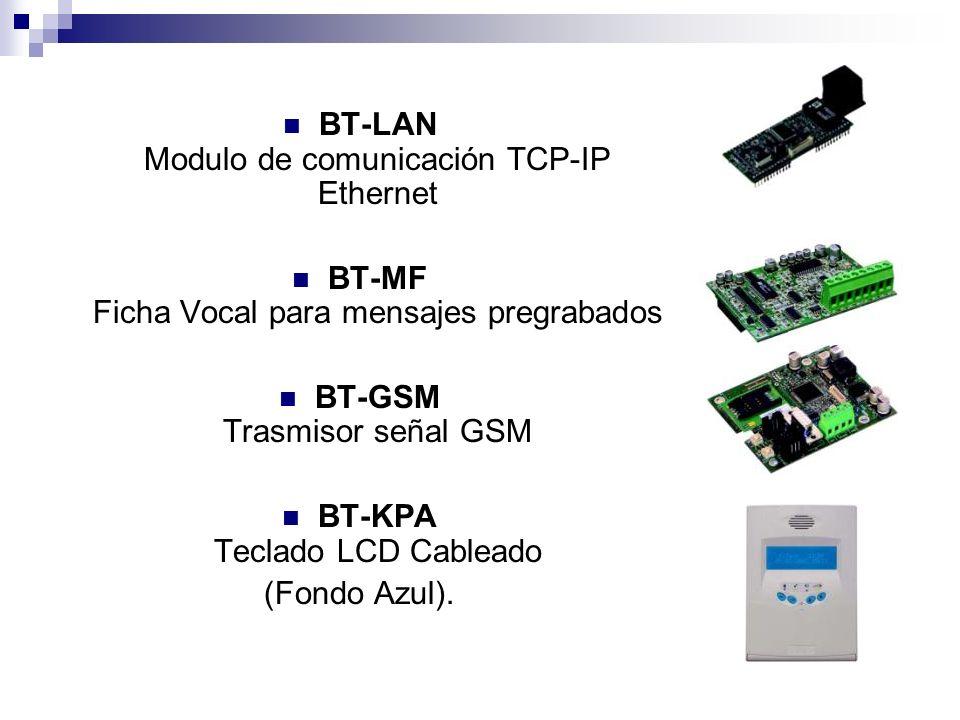 BT-LAN Modulo de comunicación TCP-IP Ethernet