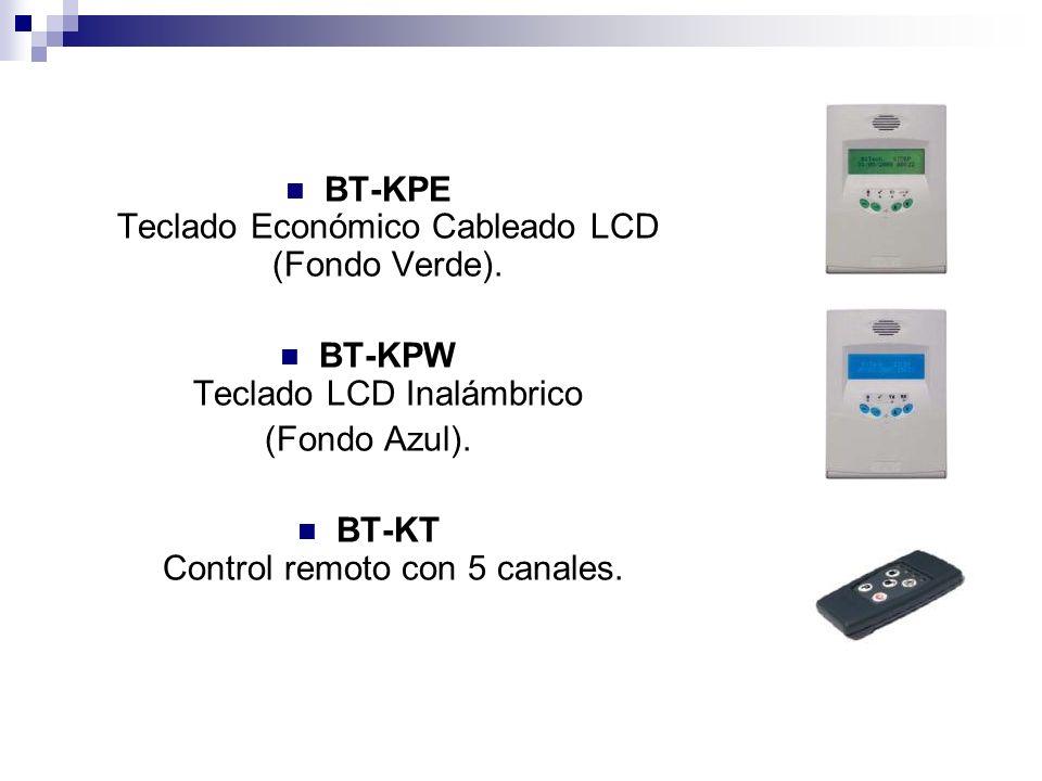 BT-KPE Teclado Económico Cableado LCD (Fondo Verde).