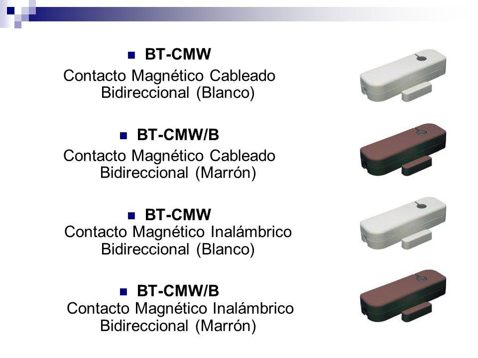 Contacto Magnético Cableado Bidireccional (Blanco)