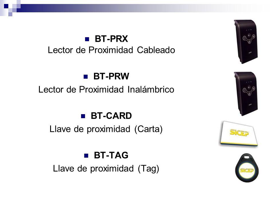 BT-PRX Lector de Proximidad Cableado