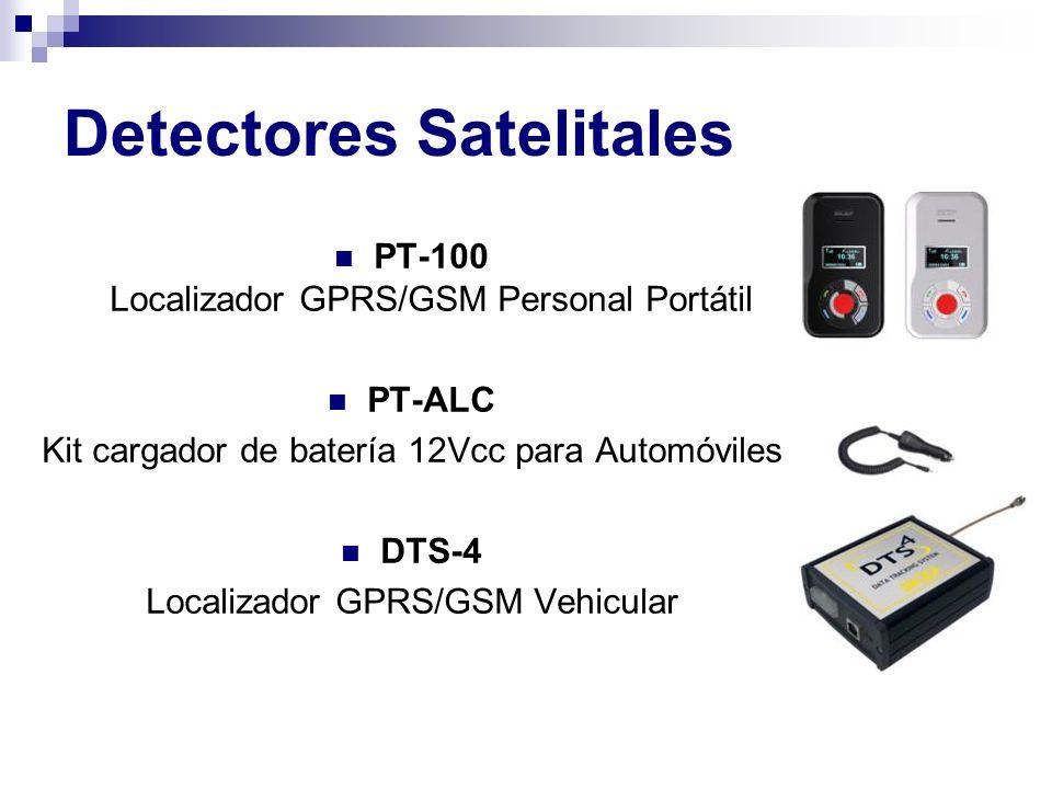 Detectores Satelitales