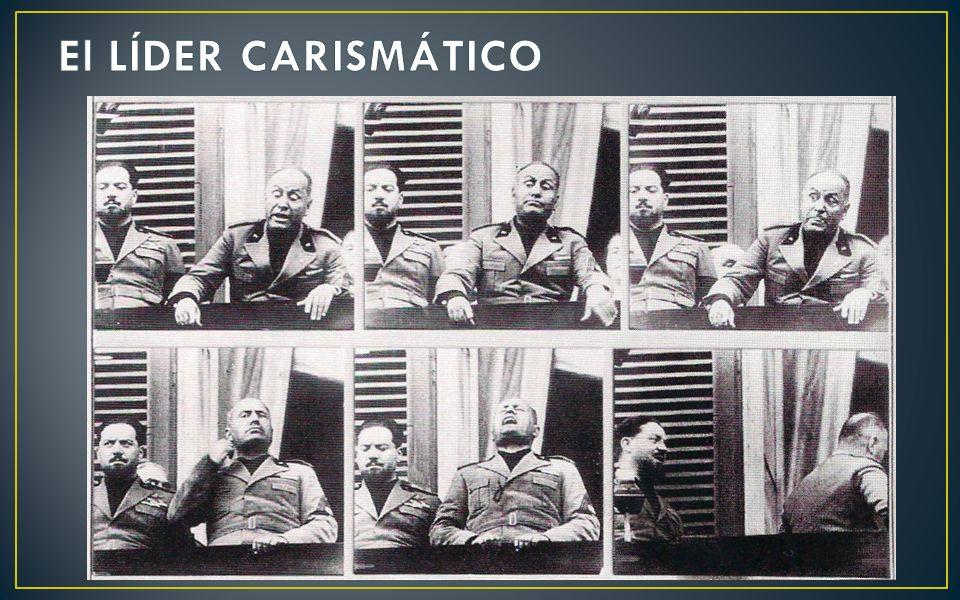 El LÍDER CARISMÁTICO