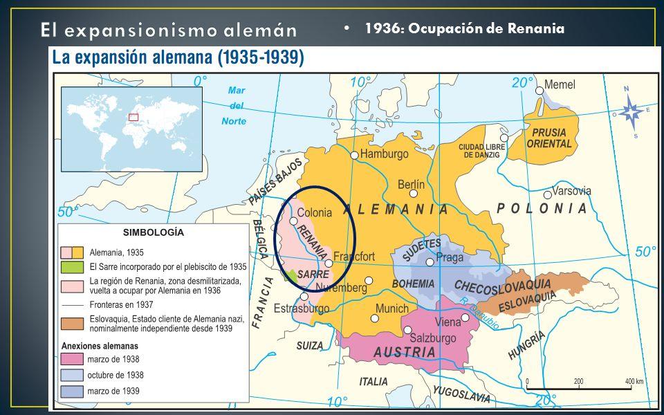 El expansionismo alemán