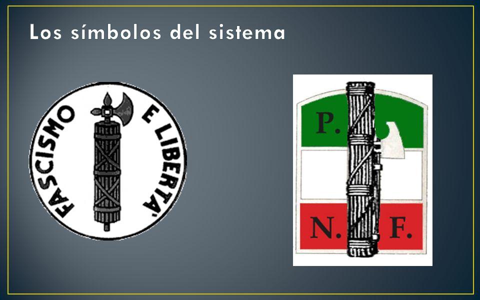 Los símbolos del sistema