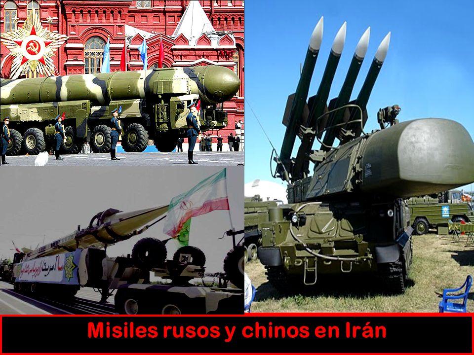 Misiles rusos y chinos en Irán