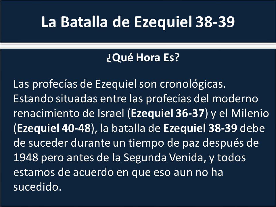 La Batalla de Ezequiel 38-39