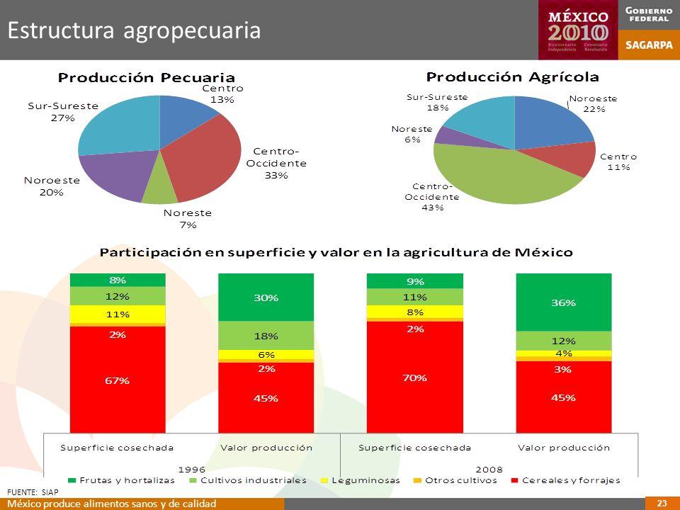 Estructura agropecuaria