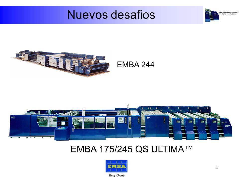 Nuevos desafios EMBA 244 EMBA 175/245 QS ULTIMA™ 3