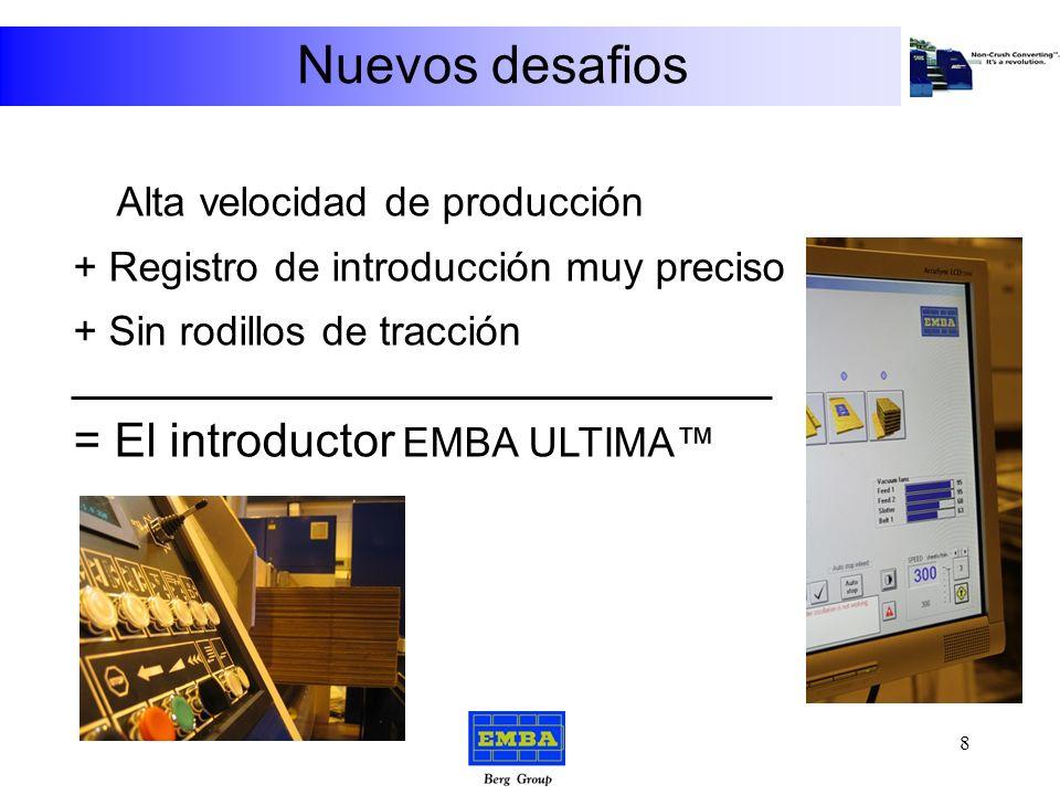 Nuevos desafios = El introductor EMBA ULTIMA™