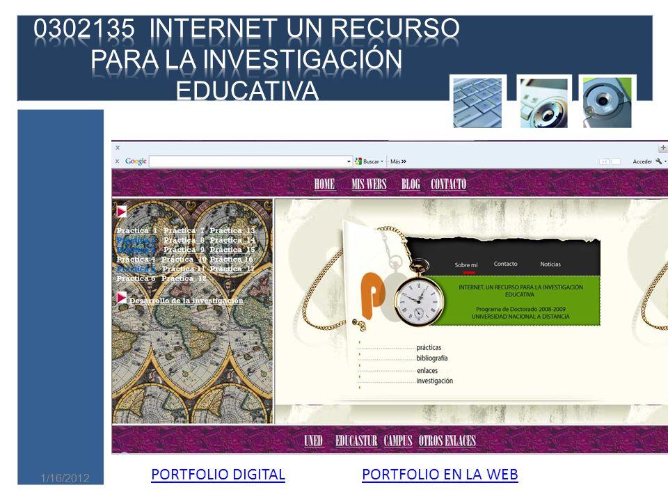 0302135 INTERNET UN RECURSO PARA LA INVESTIGACIÓN EDUCATIVA