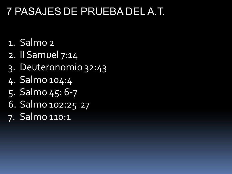 7 PASAJES DE PRUEBA DEL A.T.