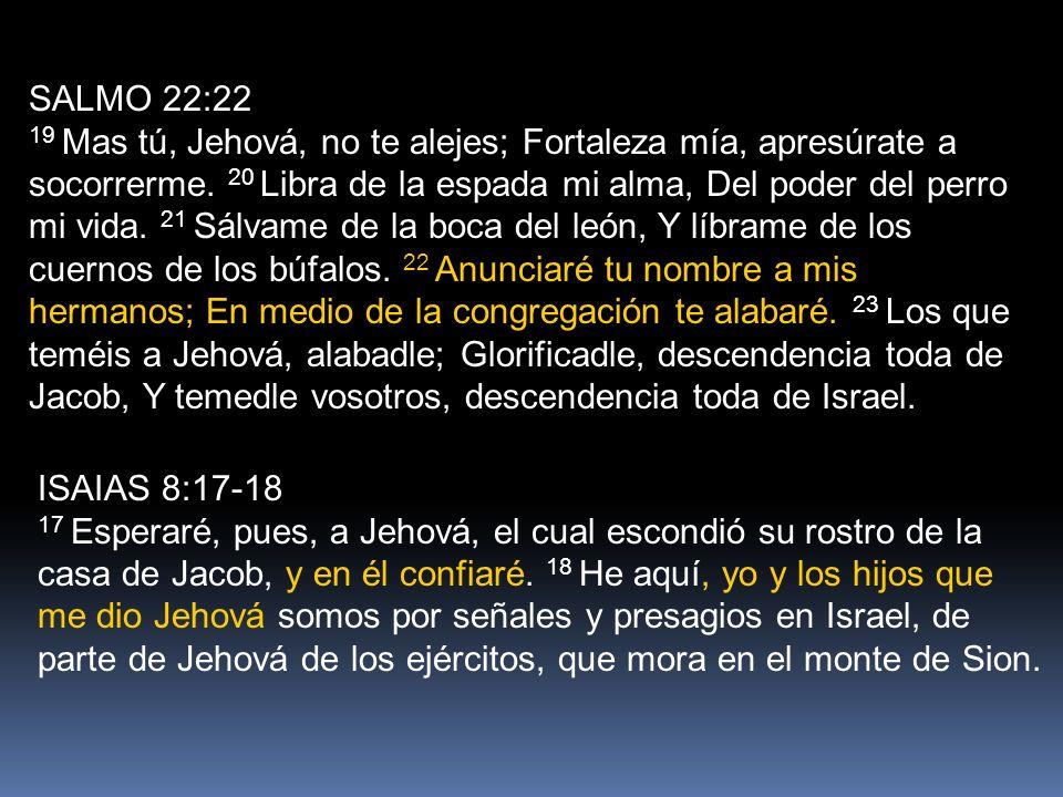 SALMO 22:22