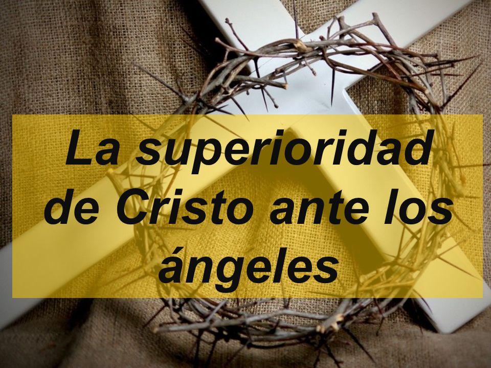 de Cristo ante los ángeles
