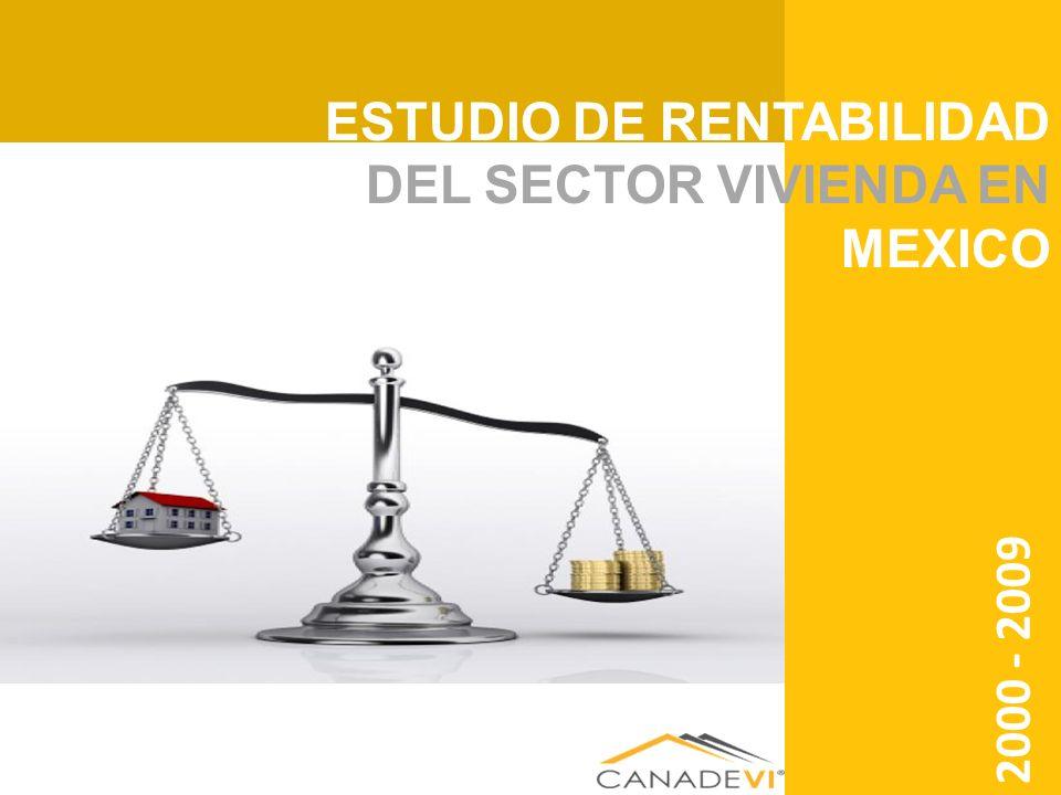 ESTUDIO DE RENTABILIDAD DEL SECTOR VIVIENDA EN MEXICO