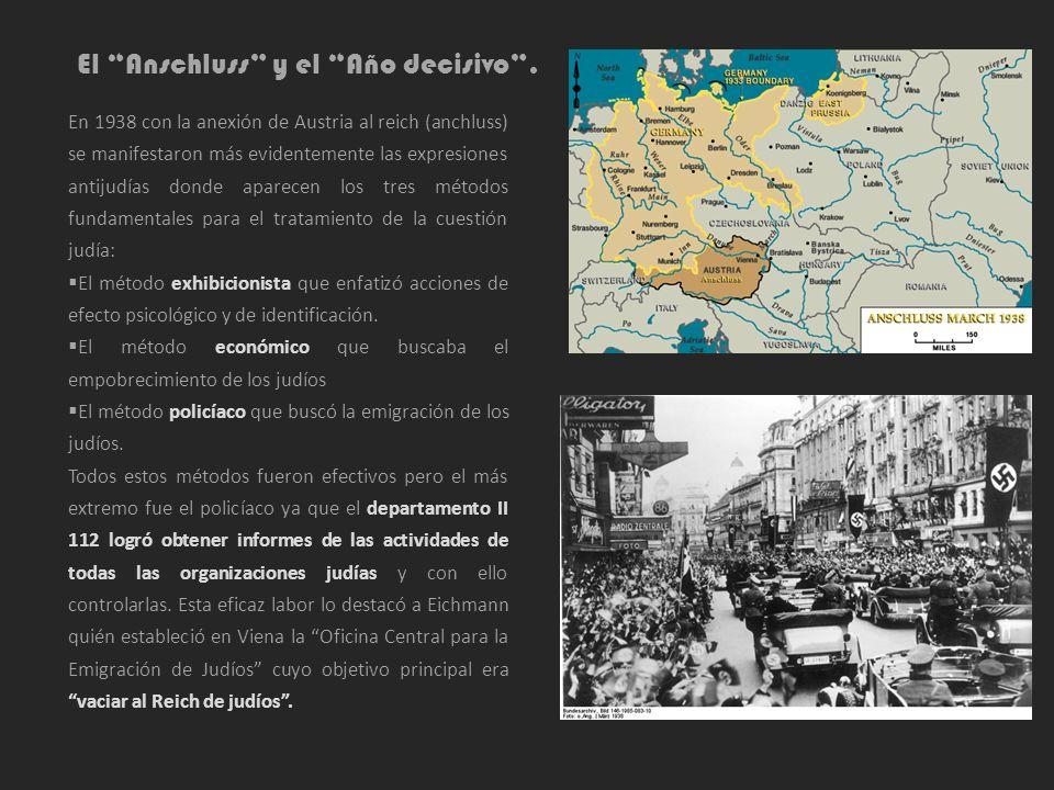 El Anschluss y el Año decisivo .