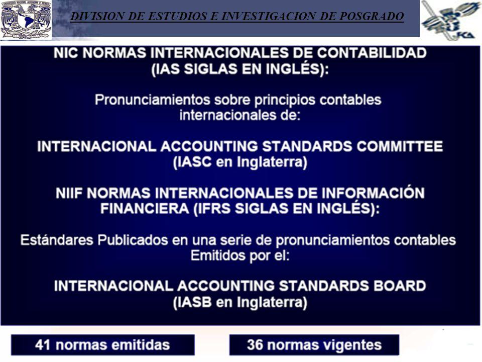 DIVISION DE ESTUDIOS E INVESTIGACION DE POSGRADO