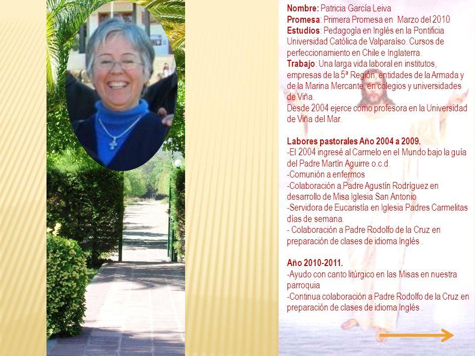 Nombre: Patricia García Leiva