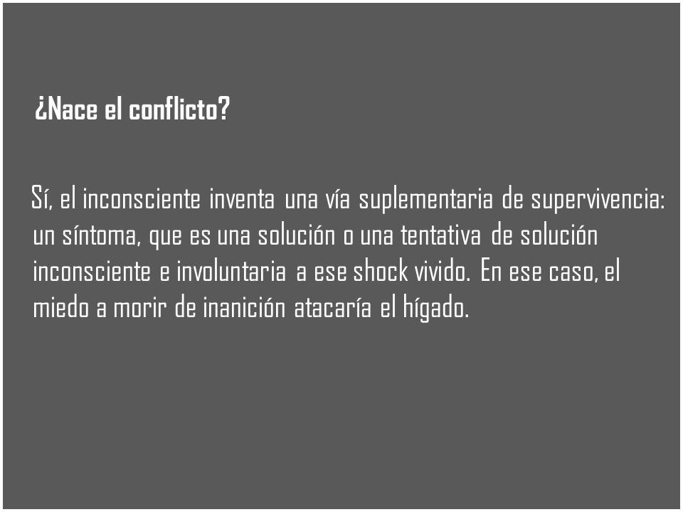 ¿Nace el conflicto