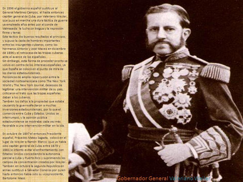 Gobernador General Valeriano Weiler