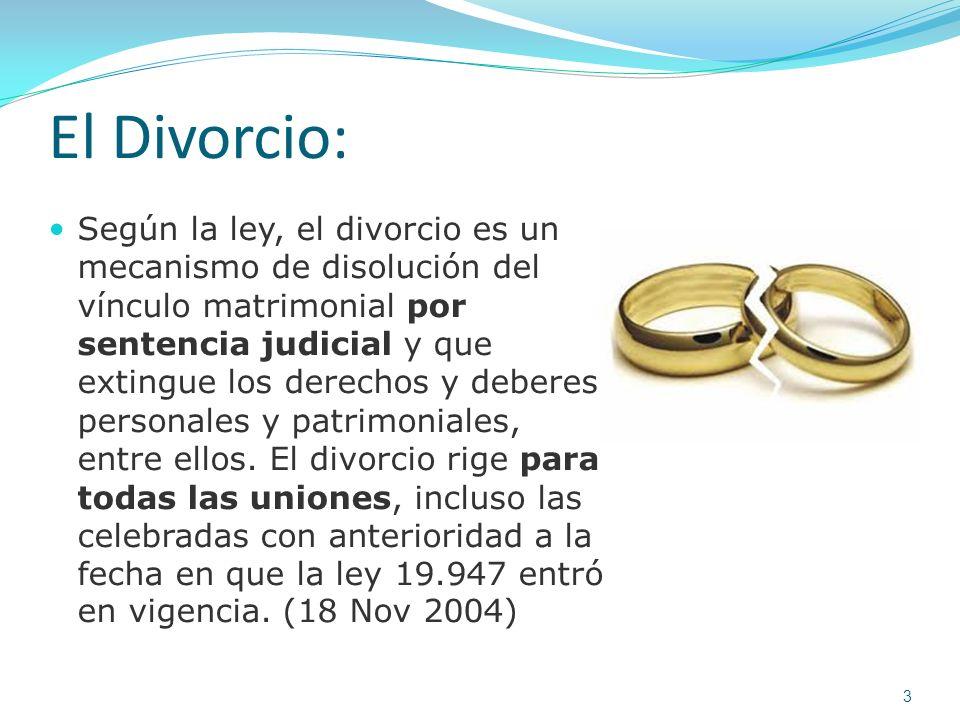 El Divorcio: