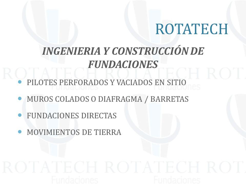 INGENIERIA Y CONSTRUCCIÓN DE FUNDACIONES