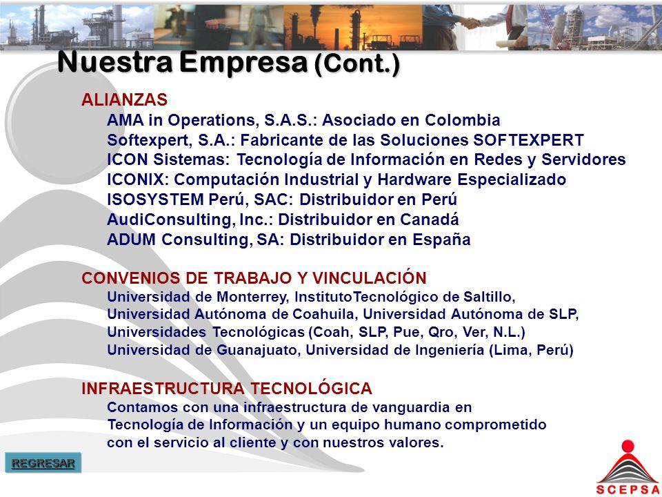 Nuestra Empresa (Cont.)