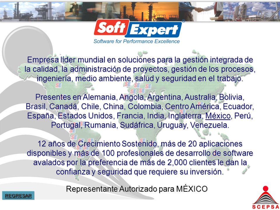 Representante Autorizado para MÉXICO