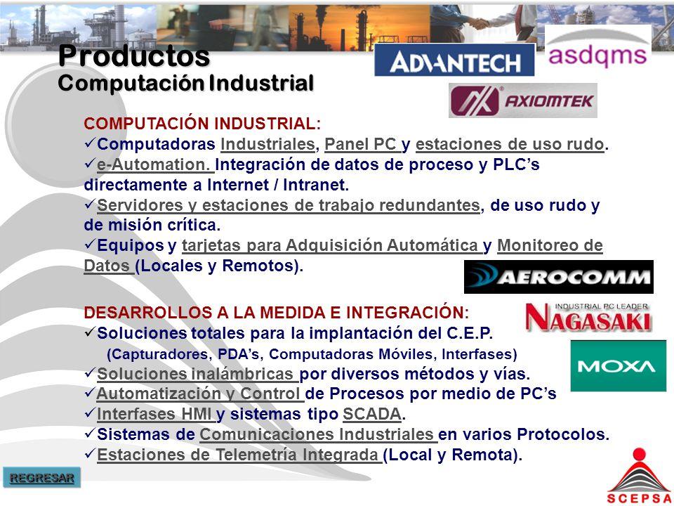 Productos Computación Industrial