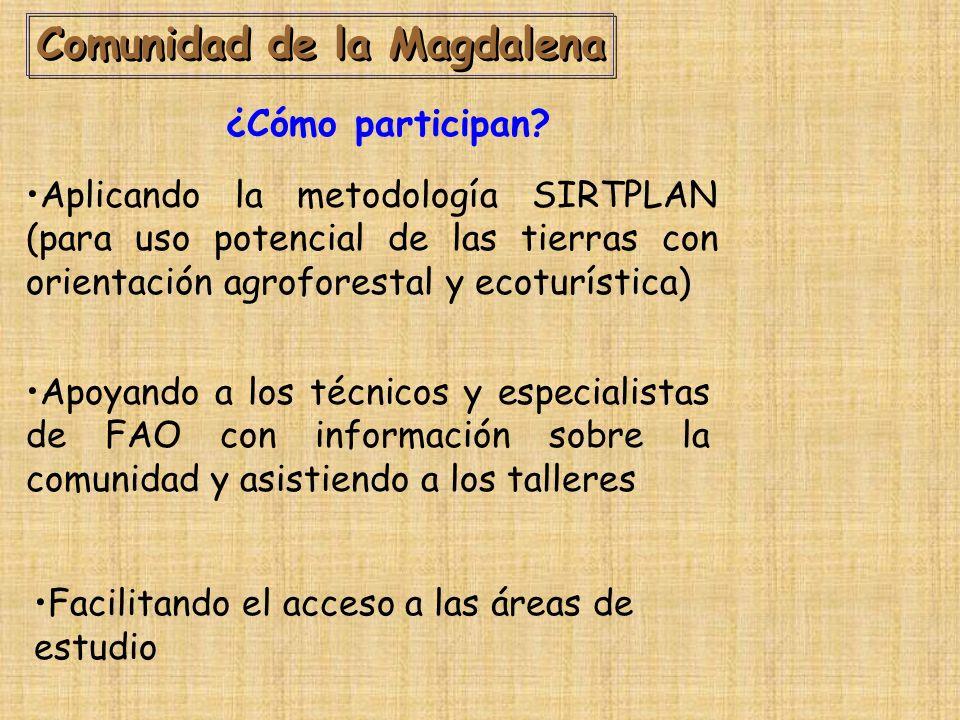 Comunidad de la Magdalena