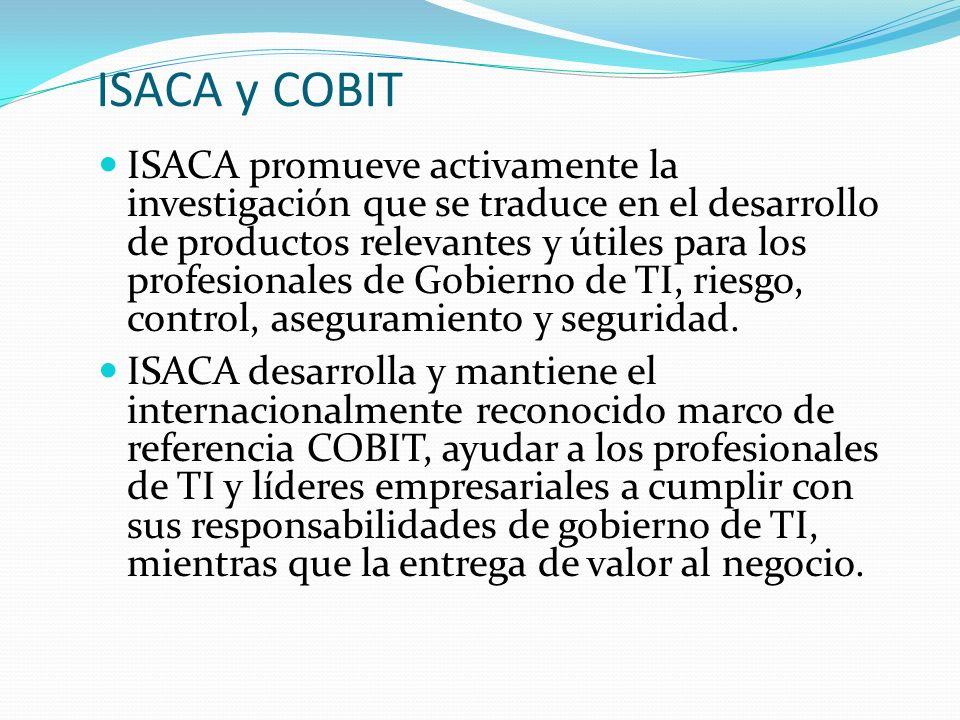 ISACA y COBIT