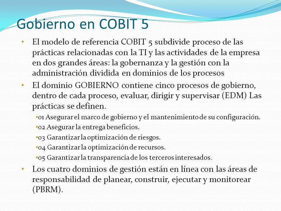 Gobierno en COBIT 5