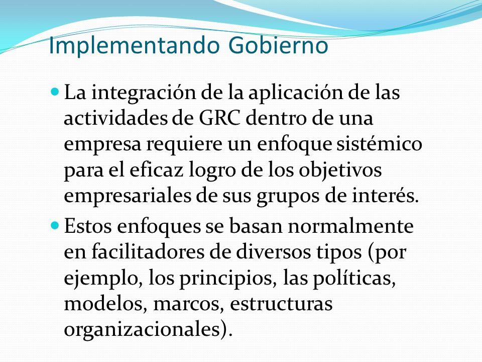 Implementando Gobierno
