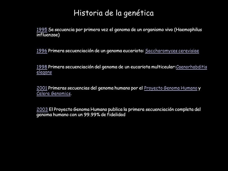 Principios b sicos de gen tica ppt descargar for En 2003 se completo la secuenciacion del humano