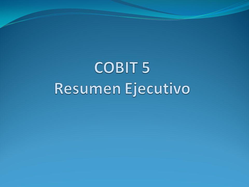 COBIT 5 Resumen Ejecutivo
