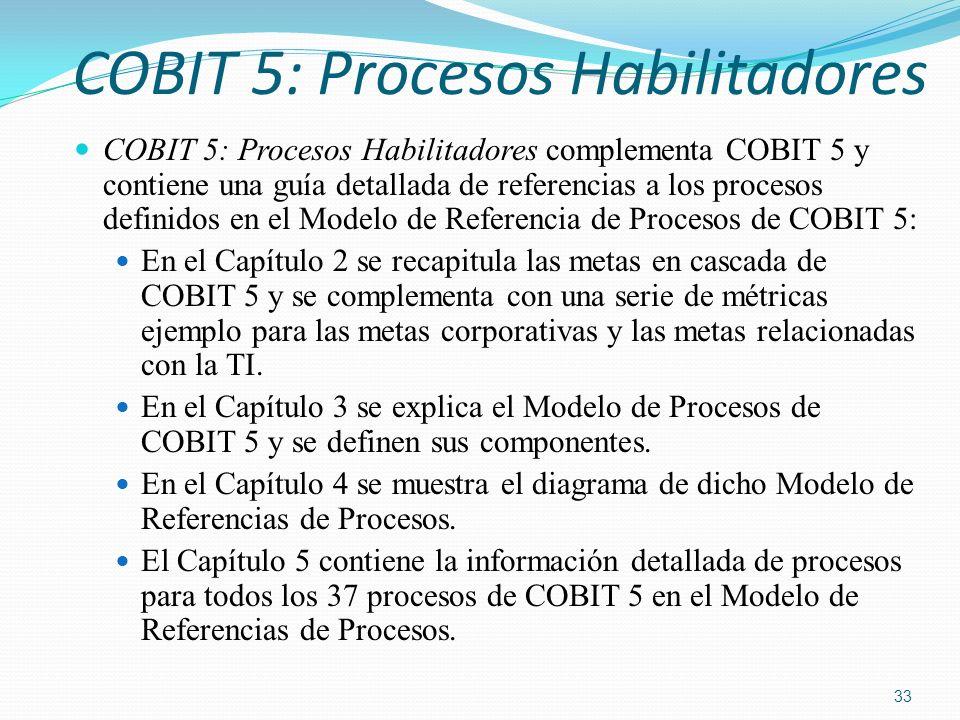 COBIT 5: Procesos Habilitadores