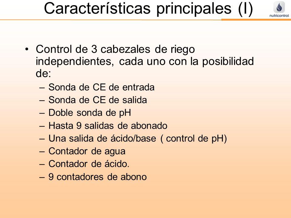 Características principales (I)