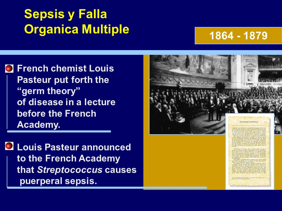 Sepsis y Falla Organica Multiple 1864 - 1879