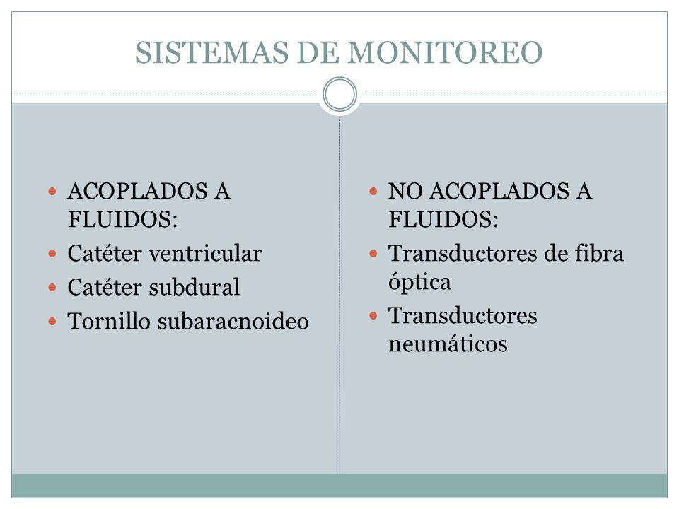 SISTEMAS DE MONITOREO ACOPLADOS A FLUIDOS: Catéter ventricular