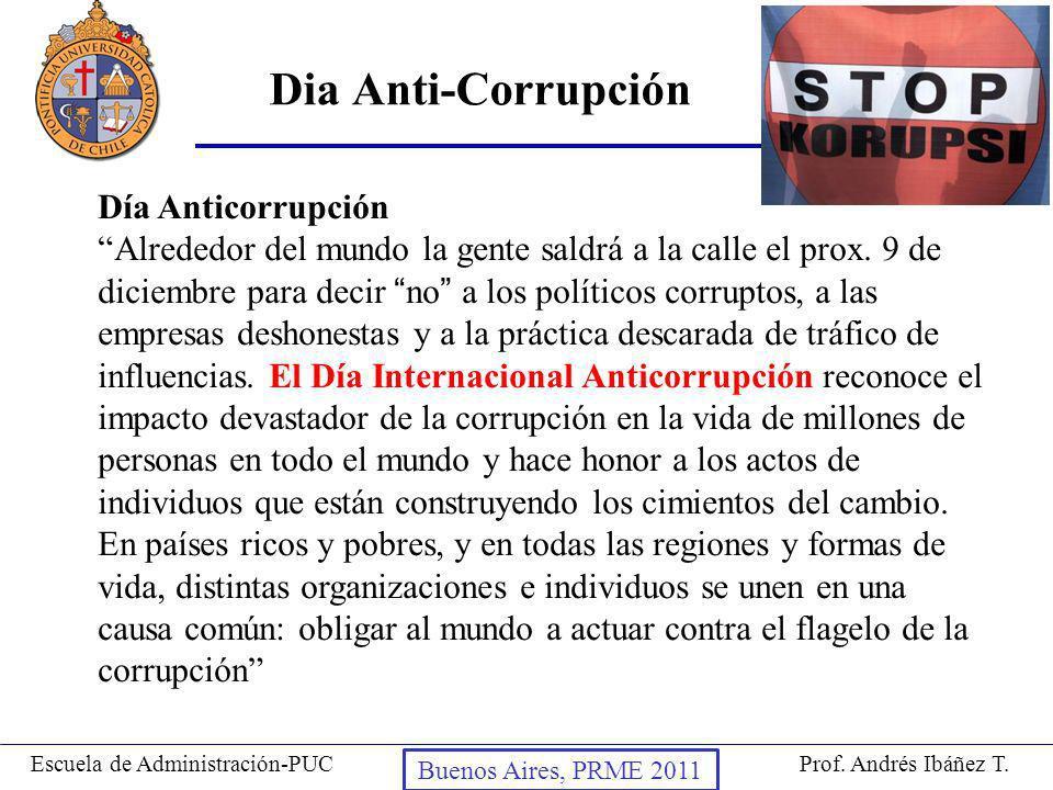 Dia Anti-Corrupción